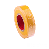 ElectroHouse Изолента желтая 0,15мм х 18мм х 25м