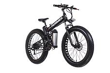 Электровелосипед ActiveRide Hummer Black, фото 2