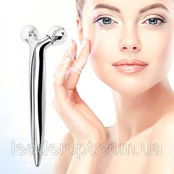 [ОПТ] Ручний міні 3D-масажер для зміцнення шкіри. 3D-масажер для обличчя і тіла