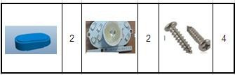 Передня і задня фари KS-14S