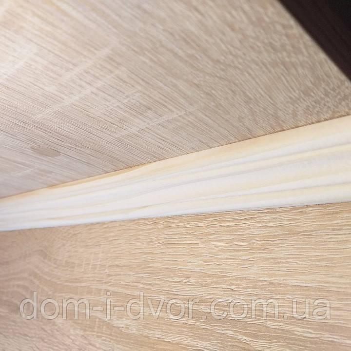 Плинтус деревянный потолочный (потолочка) 30*2000-3000мм