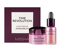Ночная восстанавливающая серия средств для лица Missha Revolution Night Repair Miniature 2 type Kit, фото 1