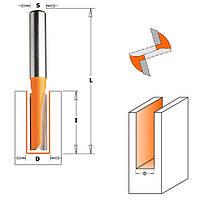 Фреза пазовая прямая CMT ф12x31,7мм хв.8мм (арт. 912.120.11)