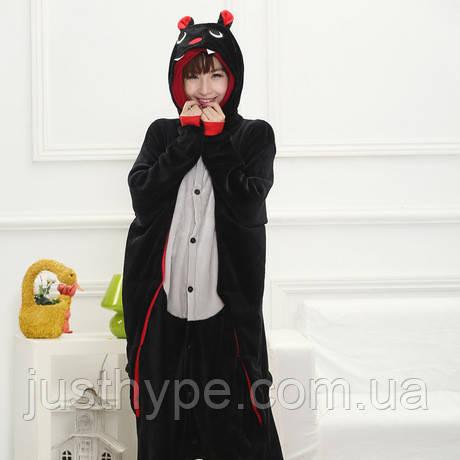 """Пижама Кигуруми взрослый """"Летучая мышка""""  Код 10-3948"""