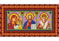 Схема для вышивки Икона-триптих (Казанская БМ, Господь - Вседержитель, Николай - Чудотворец)
