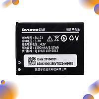 Аккумулятор для Lenovo A356, A368, A370e, A376, A390, A390T, A500, A60, A65 (BL171), емкость 1500 мАч, напряжение 3,7 В