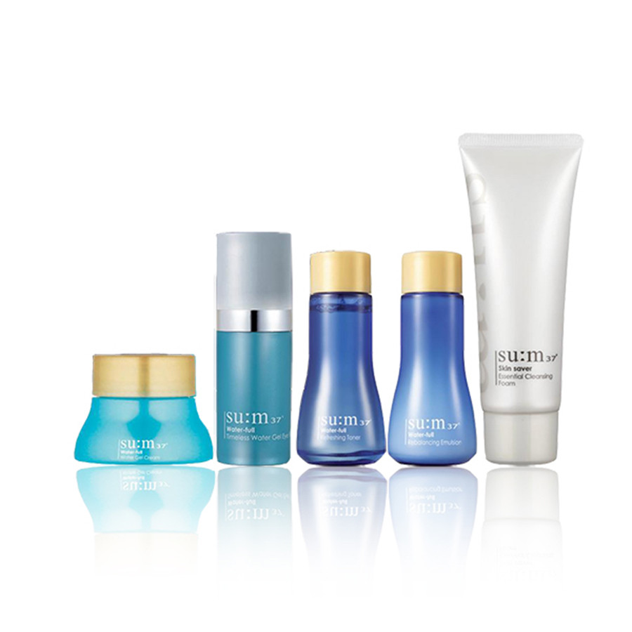 Набор интенсивно увлажняющей косметики для лица SU:M37 Water-Full 5 Special Gift Set (5 items)