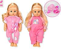 Кукла функц. Сладкая малышка 319009/5 (T13201/2) 2 вида, пьет-пис, можно купать, в кор.23*11*37