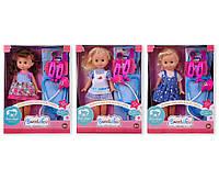 Лялька 3358-4A/5A/6A 3 види, з набором доктора,в кор.25,5*9,5*34см