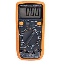 Мультиметр тестер VC-890D, фото 1