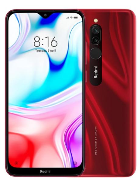 "Global Xiaomi Redmi 8 (Ruby Red) 3/32GB 6.22"" / Snapdragon 439 / 12+2 Мп / 5000мАч /"