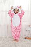 """Пижама Кигуруми детский   """"Hello Kity""""  Код 10-4062, фото 4"""