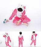 """Пижама Кигуруми детский   """"Hello Kity""""  Код 10-4062, фото 5"""