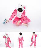 """Пижама Кигуруми детский   """"Hello Kity""""  Код 10-4063, фото 6"""
