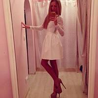 Платье BABYDOLL молочный