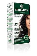 Краска для волос Herbatint - коричневый 2N, Перманентная краска-гель для волос
