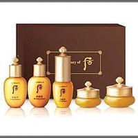 Серия базового ухода за зрелой кожей The History Of Whoo Gongjinhyang Special Gift Set (5 items)