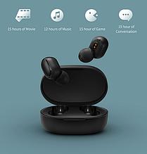 Наушники оригинал Redmi AirDots by Xiaomi Беспроводные Bluetooth 5,0 / TWS + чехол