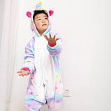 "Пижама Кигуруми детский   ""Единорог звездочка""""  Код 10-4077, фото 3"