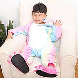 """Пижама Кигуруми детский   """"Единорог радуга пастель""""  Код 10-4083, фото 8"""