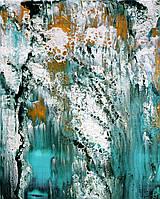 """Авторская картина акрилом на холсте """"Морская пена"""",50*40см деревянный подрамник"""