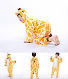 """Пижама Кигуруми детский   """"Жираф""""  Код 10-4100, фото 4"""