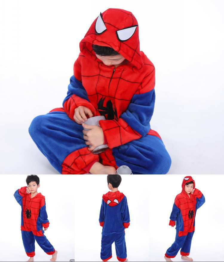 "Пижама Кигуруми детский   ""Человек-паук""  Код 10-4126"