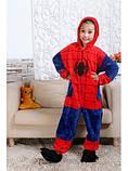 "Пижама Кигуруми детский   ""Человек-паук""  Код 10-4126, фото 2"