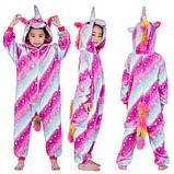 """Пижама Кигуруми детский """"Единорог карамелька """"  Код 10-4143, фото 4"""