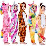 """Пижама Кигуруми детский """"Единорог карамелька """"  Код 10-4143, фото 5"""
