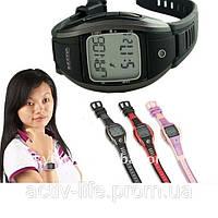 Профессиональный пульсометр - наручные часы HRM-2519 ( цвет: черный, красный, сиреневый )