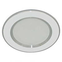 Светодиодный светильник Feron AL 527 (9W) круг, белый