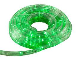 Светодиодная гирлянда-лента Xmas Rope light 10M Green, дюралайт зеленый
