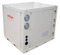 Тепловой насос  грунт-вода CliTech 14 кВт для отопления и горячей воды
