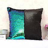 Подушка с пайетками  Код 10-4363, фото 3