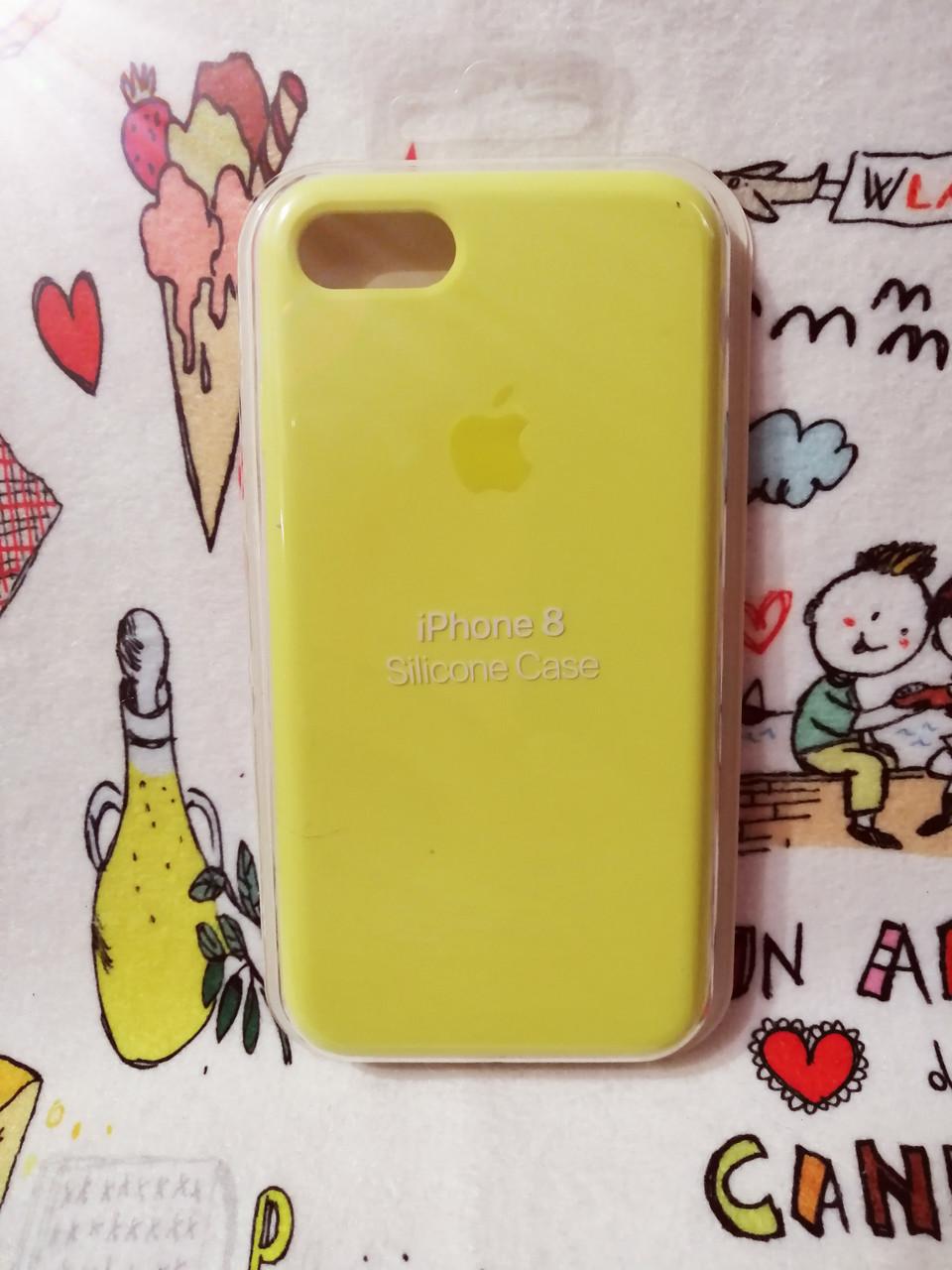 Силиконовый чехолApple Silicone CaseдляiPhone 7 / 8 - Color 2