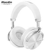 Наушники беспроводные Bluedio T4S с микрофоном (белые)