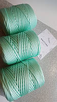 Трикотажный полипропиленовый шнур PP Cord 5 mm, цвет Ментол