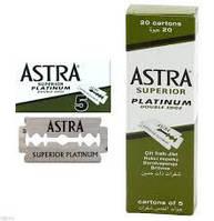 Лезвия Astra Superior Platinum, 100 шт в упаковке