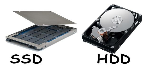 Жесткие диски HDD и SSD