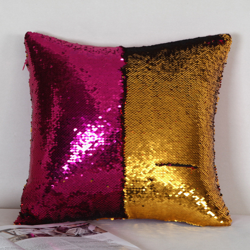 Подушка с пайетками  Код 10-4429