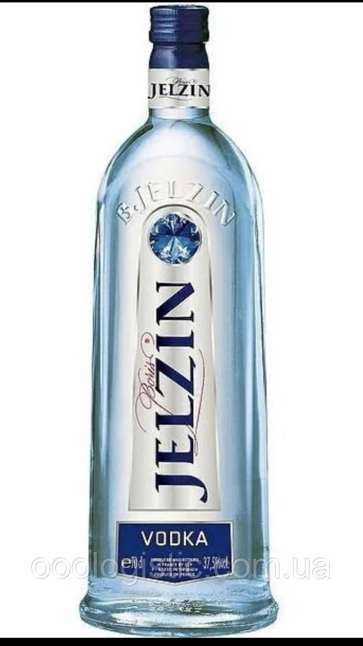 Водка Jelzin 1л.37,5% Франция duty free