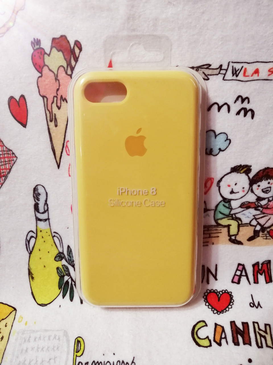 Силиконовый чехолApple Silicone CaseдляiPhone 7 / 8 - Color 3