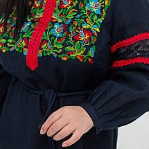 """Украинские платья c цветами """"Трембита"""", фото 3"""