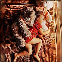 """Пижама женская """"Новогодняя"""" Хлопок, шорты и футболка, фото 1"""
