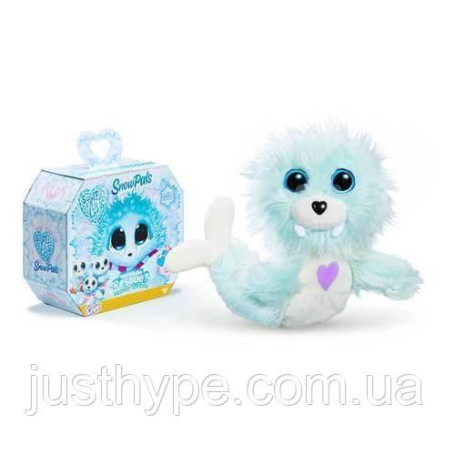 Пушистик потеряшка «Снежные друзья» игрушка сюрприз Scruff A Luvs Snow Pals  Код 12-2006