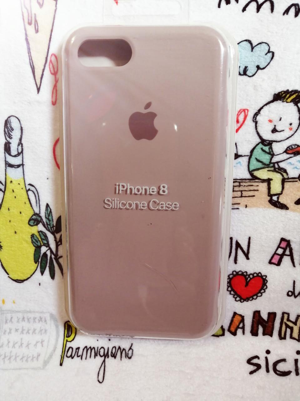 Силиконовый чехолApple Silicone CaseдляiPhone 7 / 8 - Color 7