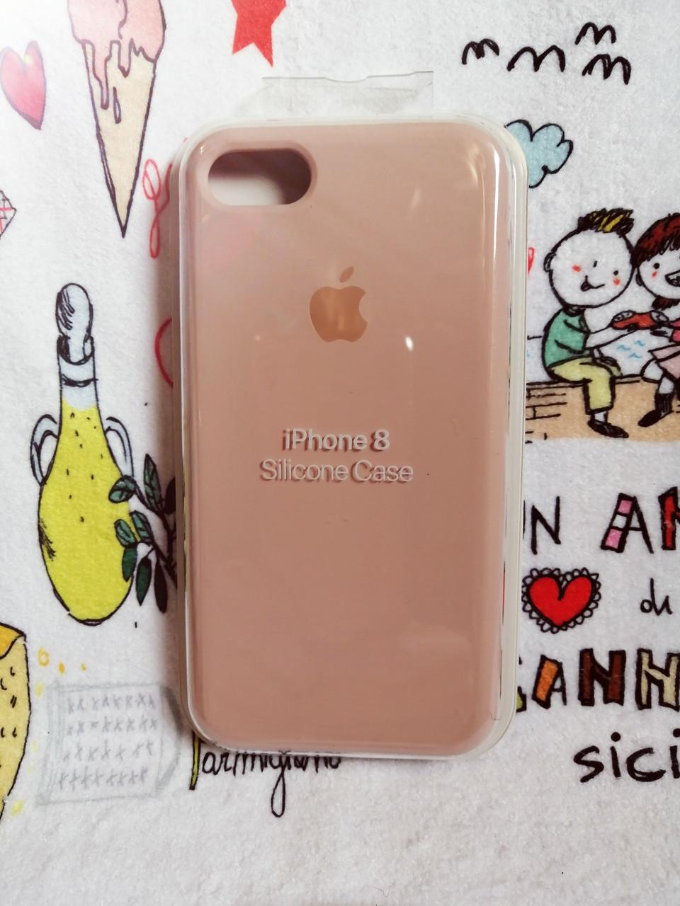 Силиконовый чехолApple Silicone CaseдляiPhone 7 / 8 - Color 9