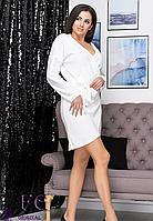 Молодіжне сукня виготовлена з м'якого трикотажу ангора., фото 1