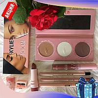 Подарочный набор косметики Kylie 7в1